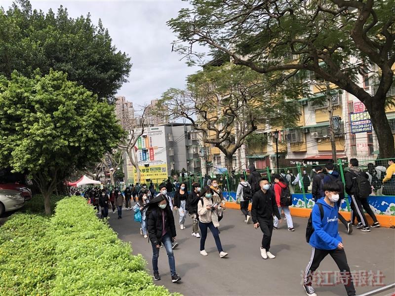 【防疫總動員】專欄-淡水校園啟動門禁管制
