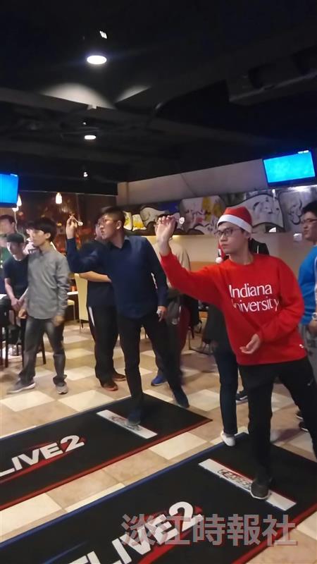 競技飛鏢社 @ 鏢客棧辦耶誕活動