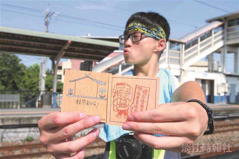 資工四柳翔元 環島送暖「想讓臺灣像個家」