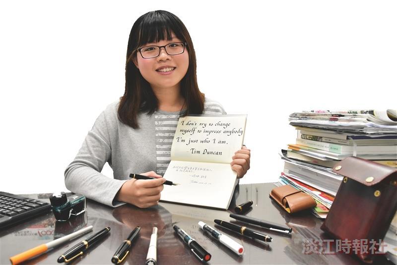 國企三劉妍君鍵盤世代 手寫溫度療癒人心