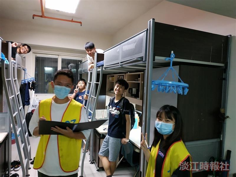 住輔組108-2淡水校園學生宿舍「樂活健康‧從住做起」內務檢查