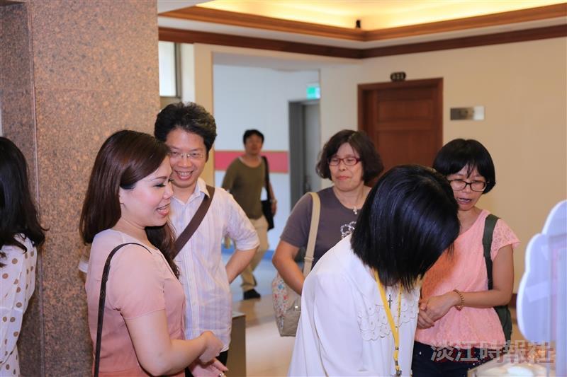 淡江時報1000期茶會