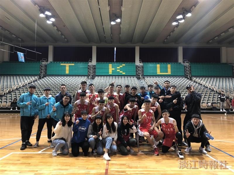 男籃主場發威連四勝大專聯賽成功晉級