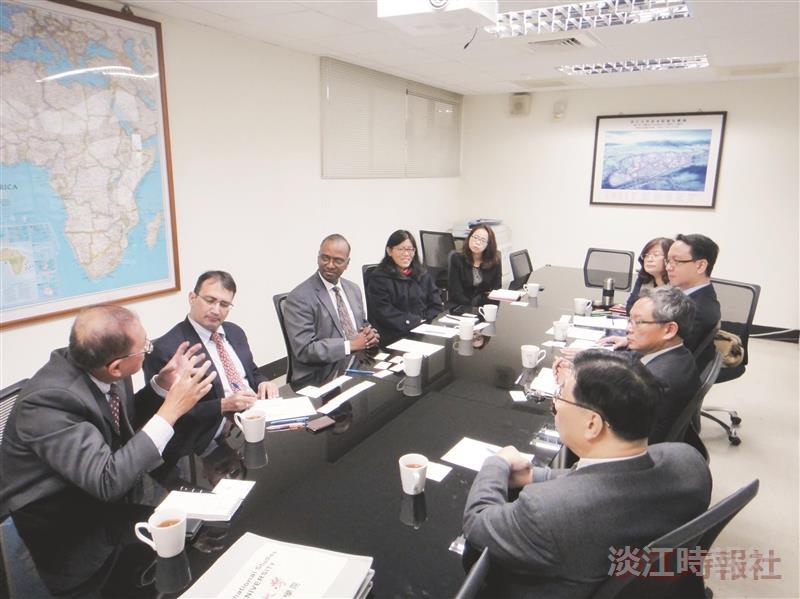 印度台北協會來訪 座談新南向政策