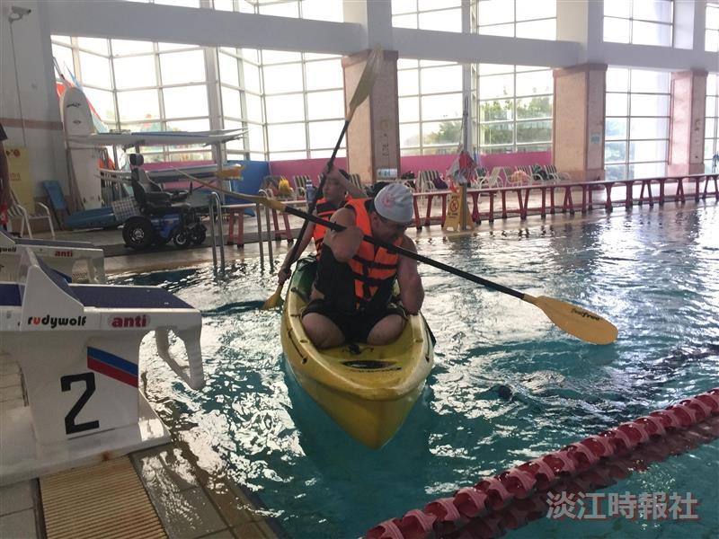 視障資源中心6/11獨木舟水上體驗活動