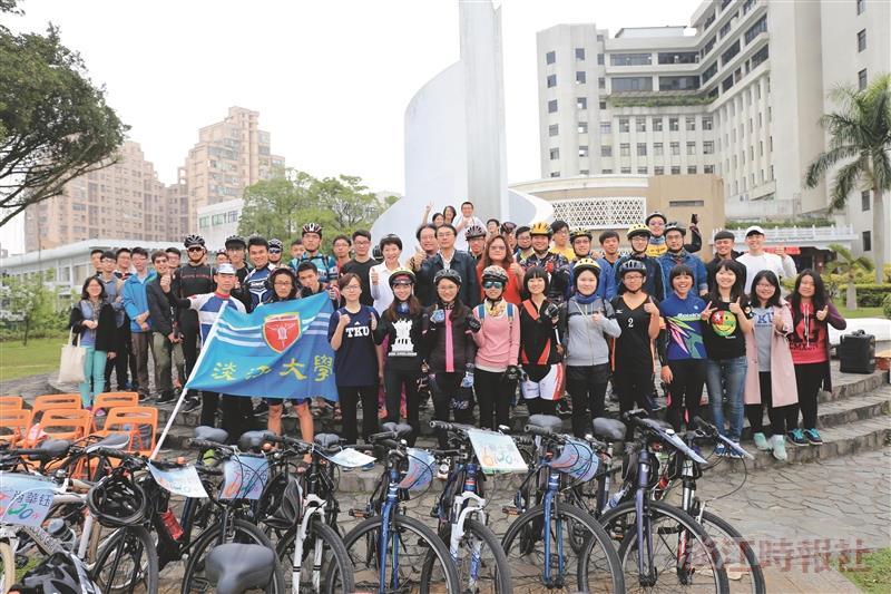 40單車騎士10天遊臺灣