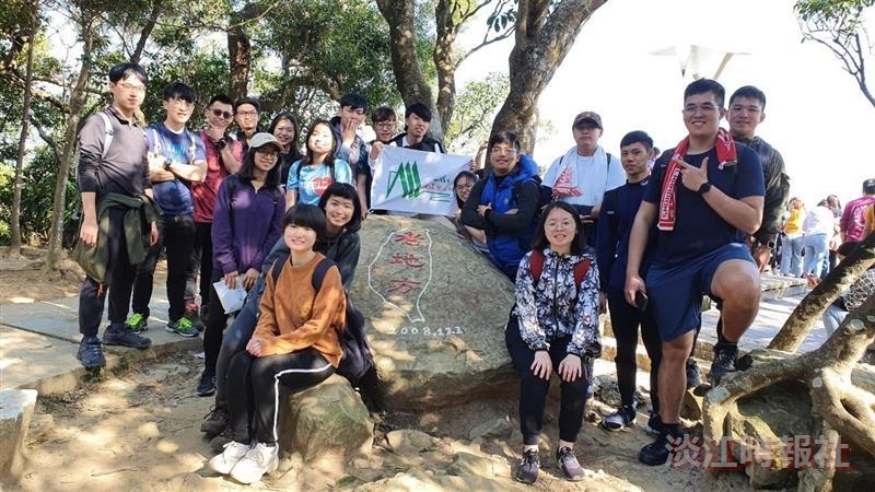 登山社3/15台北金面山縱走劍潭山