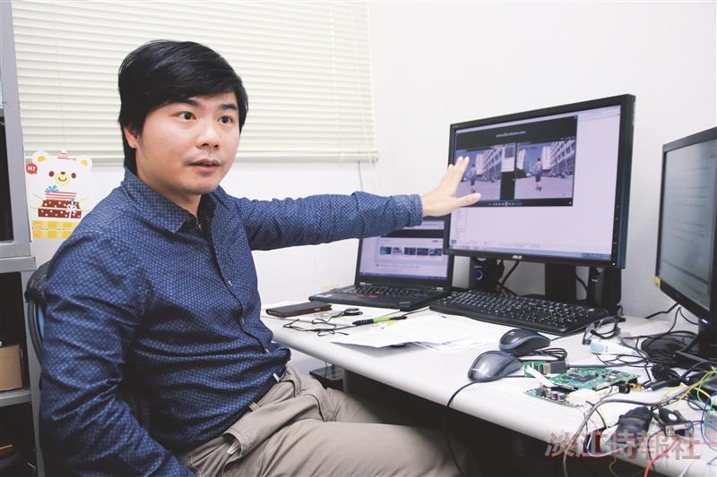 【產學合作圈】蔡奇謚 鑽研影像處理實現視覺追蹤