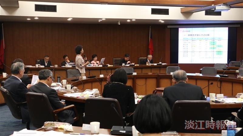 157次行政會議       張校長宣布明年一月調薪