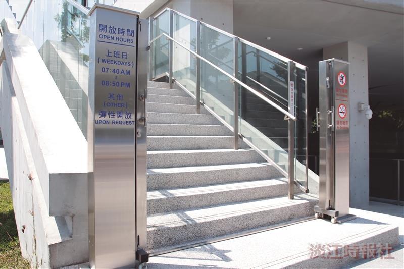 守謙國際會議中心加裝閘門顧安全