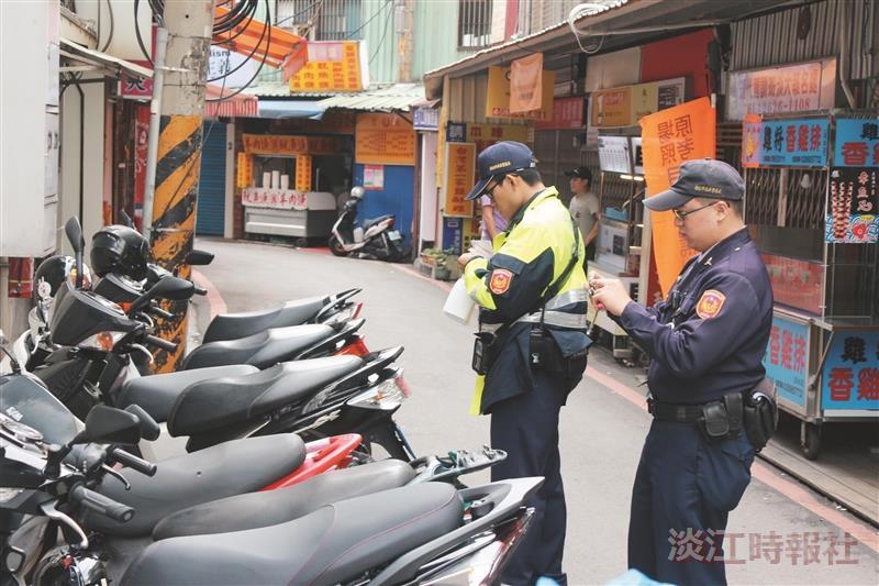 生輔組籲交通與居住安全 機車違停 加強取締