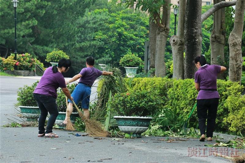 梅姬颱風災後修復