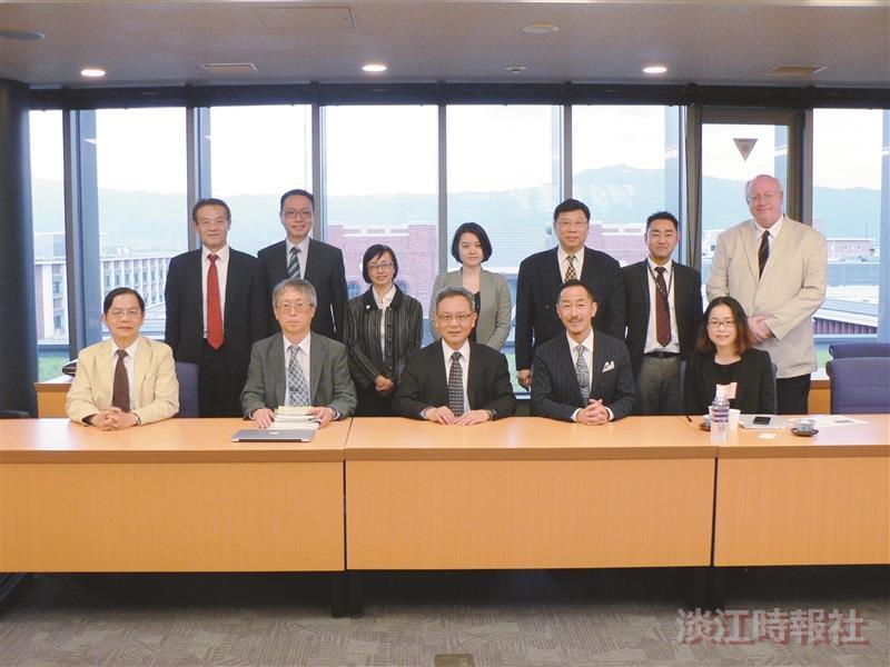 國際研究學院8師赴日學術交流