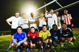 淡江體壇很國際 八國聯軍 相約足球外交
