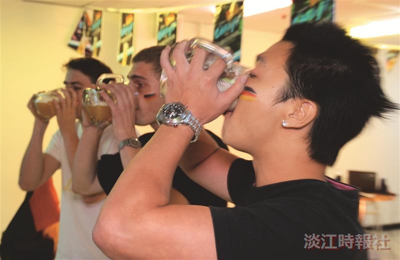 德國啤酒節 搬進淡江