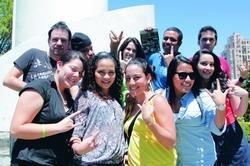 本月8日國交處舉辦外國學生說明會,來自各國的外國學生在淡江喜相逢。(攝影�黃乙軒)