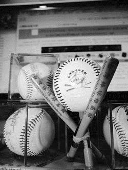 台灣棒球維基館。(攝影�劉瀚之)