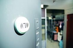 淡江學園0710號寢室是周定緯大一時的窩喔!(圖�黃士航)