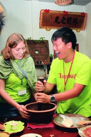 國際學生遊三義 另類學習體驗台灣