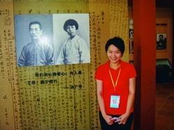 本校博士生黃文倩獲國科會論文獎助,得到42萬元獎金。(攝影�提供)