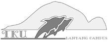 上圖為蘭陽校園制服上的Logo,由於蘭陽校園面對太平洋,遠眺龜山島,因此海豚下面的橫槓是指太平洋,後方為龜山島,從海平面躍起的海豚代表「魚躍淡江」的精神象徵。