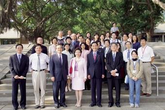 校長張家宜於上月29日率領教職員參訪東海大學,期待兩校間有更多合作機會。(圖/馮文星)