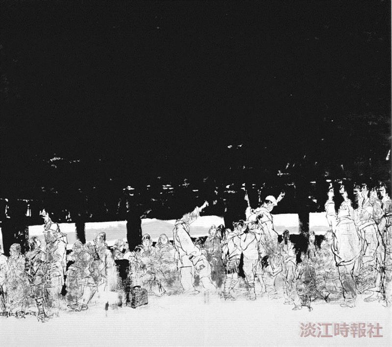 李奇茂  執台灣水墨繪畫牛耳