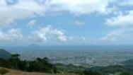 自蘭陽校區遠眺龜山島,輪廓清晰秀麗。(蘭陽校園籌備處提供)