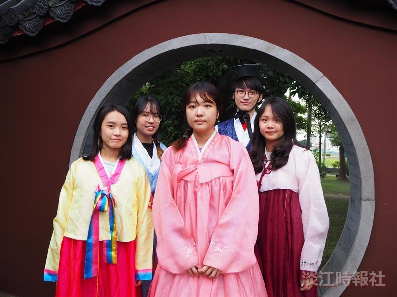 韓國研究社10/23韓服體驗活動