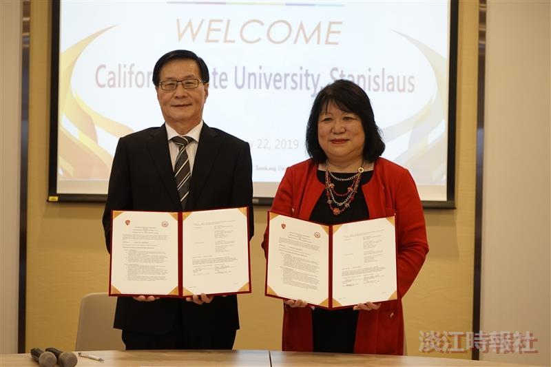 姊妹校加州州立大學斯坦尼斯洛斯分校來訪