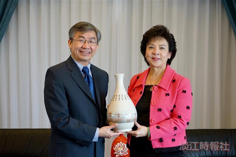 熊貓講座羅格斯大學講座教授Dr. Hoang Pham訪校