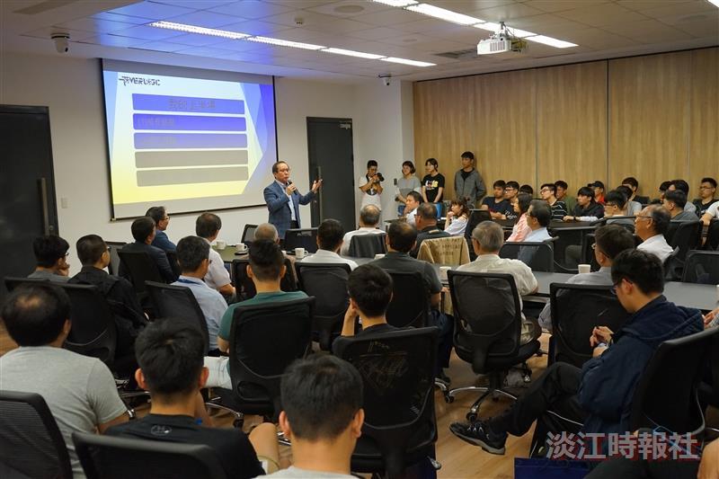 土木系傑出系友許文昉分享12億元營收的創業故事
