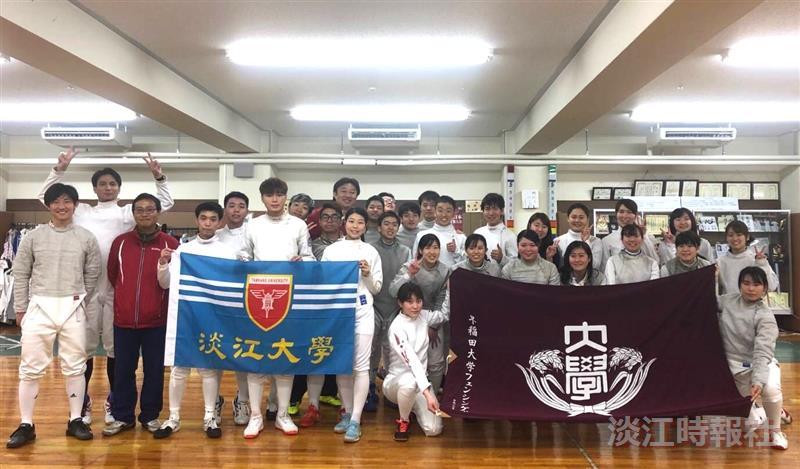 本校擊劍隊4月1日至6日至日本東京交流