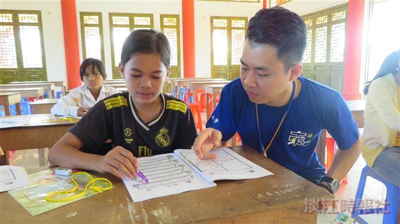 十年送愛柬埔寨 服務學習共成長