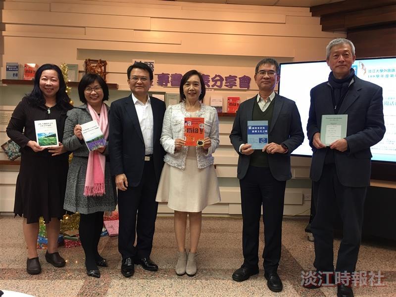 外語學院五師分享專書成果