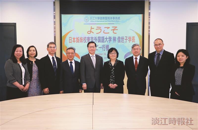 日本東京外語大學訪問團