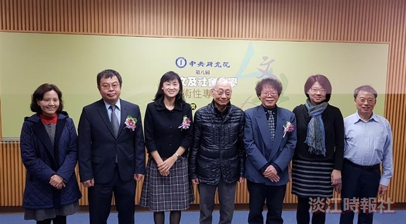 蔡振興榮獲「第八屆中央研究院人文及社會科學學術性專書奬