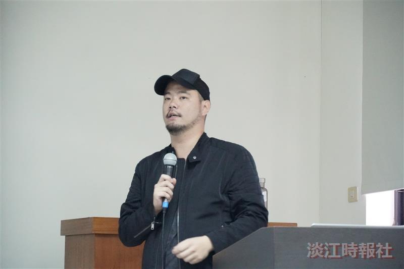 Flyung V執行長鄭光廷演講