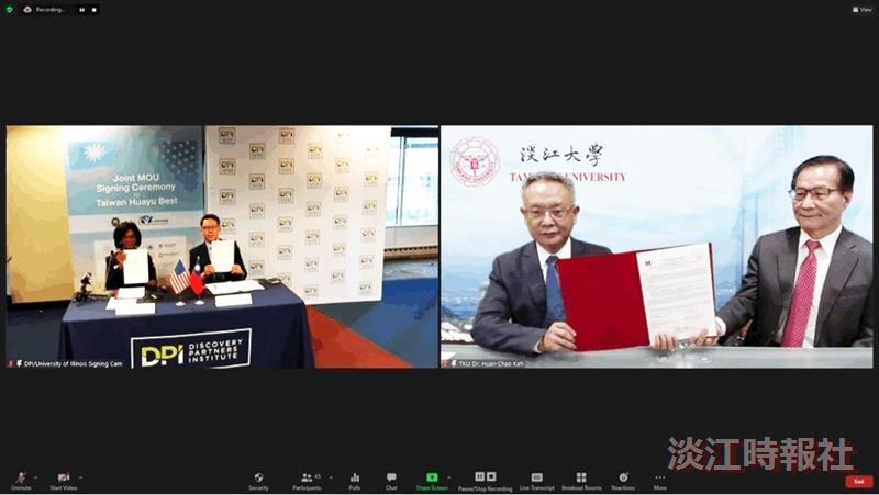 與美國密西根大學弗林特分校簽訂「美國中西部地區『台灣優華語計畫』校對校備忘錄」