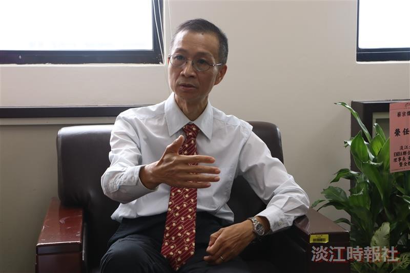 商管學院院長蔡宗儒