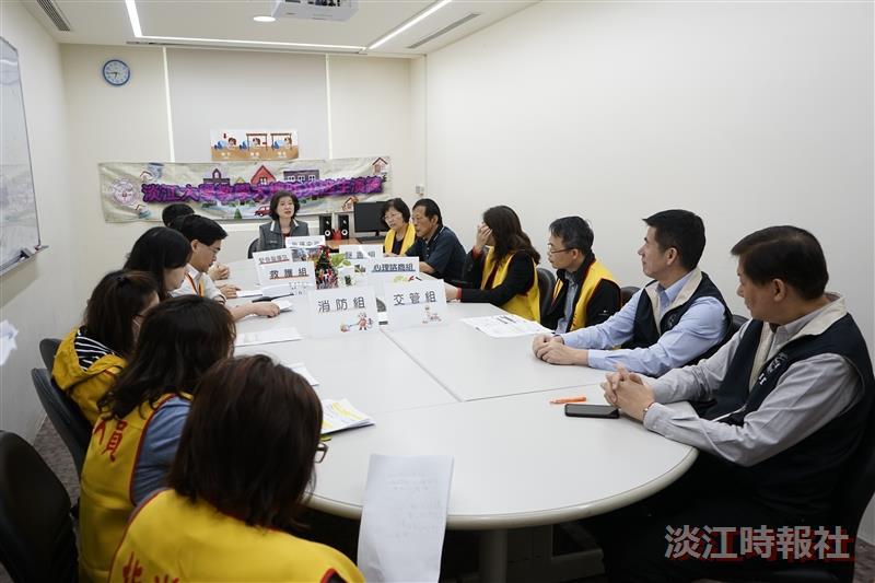 教學大樓防災逃生演練