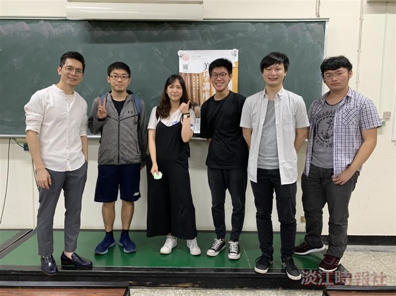 生輔組5月8日邀請2019年金音創作奬得主「春麵樂隊ChuNoodle」的單簧管演奏家高承胤演講