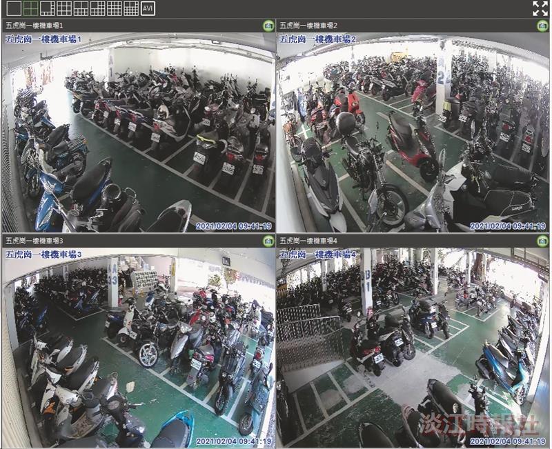 五虎崗新設7支高畫質監視器