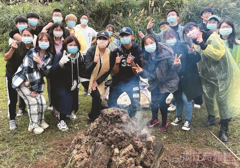 國際處臺灣農村窯烤體驗