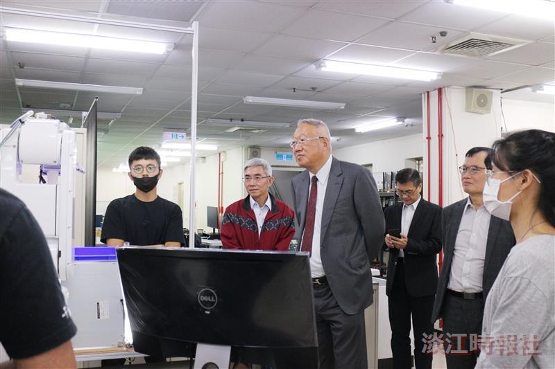 正崴集團董事長郭台強蒞校座談 盼持續產學合作