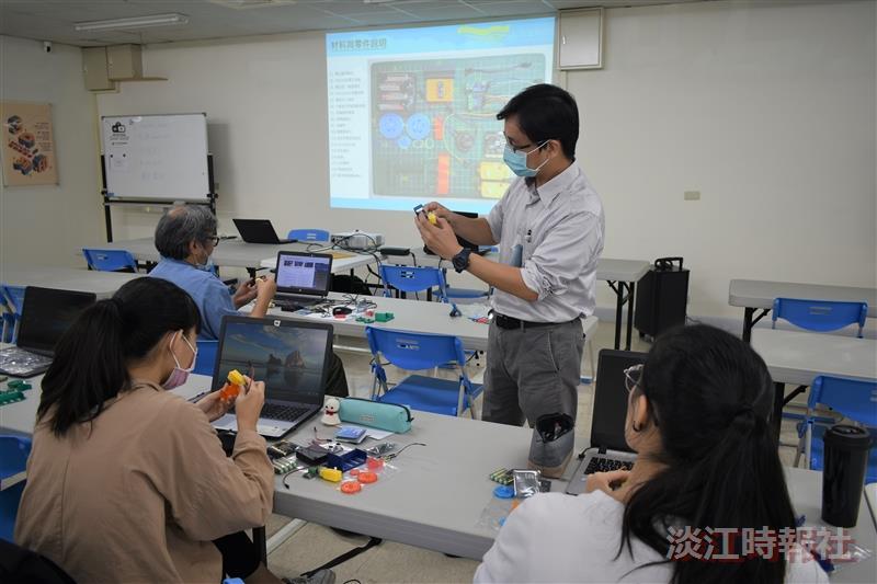 研發處「3D列印micro:bit聲納探測車」設計及製造活動