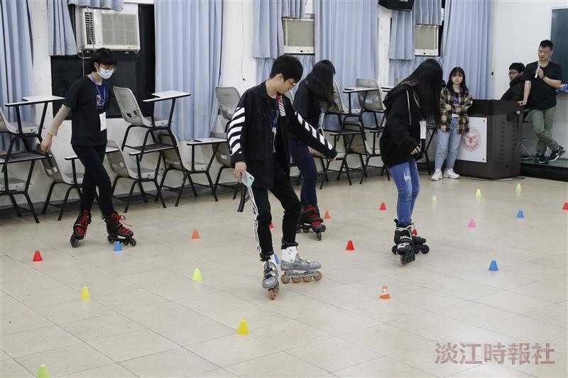 溜冰社迎新