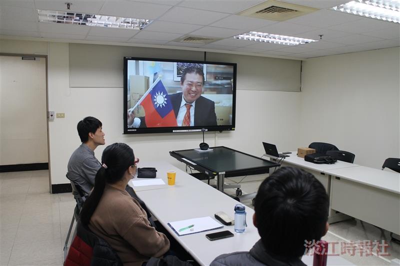 日本前眾議員福島伸享視訊交流
