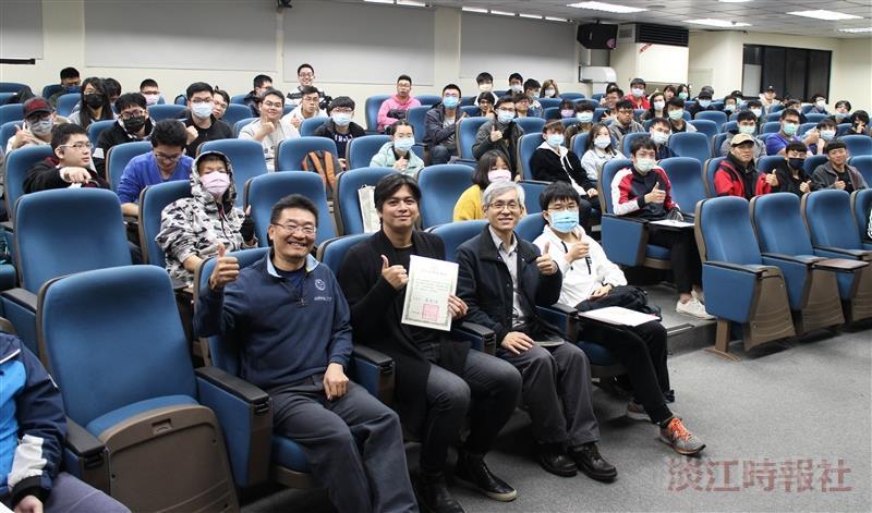 茶籽堂創辦人趙文豪演講「品牌發展策略」