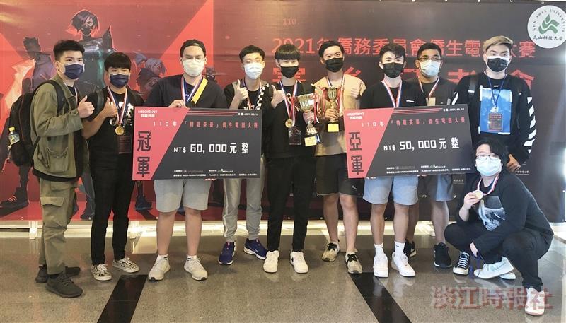 淡江聯隊「試水温2」勇奪僑生電子競賽冠軍